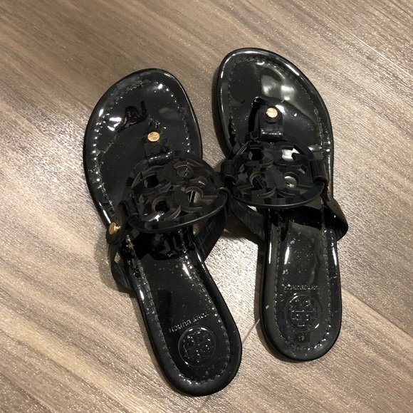 Tory Burch Shoes - Tory Burch Miller Sandals (Black Patent)